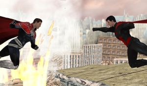 Superman vs Superman: The Battle for Man of Steel. by WOLFBLADE111