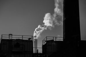 2013-10-22: Silhouetted Smoke by indybird