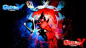 Pokemon X and Y: Xerneas and Yveltal by FRUITYNITE