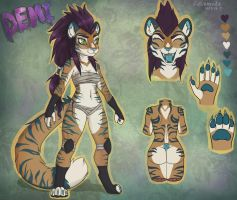 [CLOSED ]Badass Tiger adopt by Lushminda
