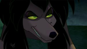 Rita - Oliver And Company - Scar Style by KateTheAlpha98