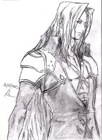 Sephiroth ( Final Fantasy VII ) by Robert-Marten