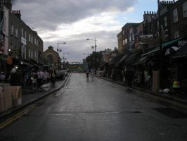 Dull day in Camden by scatthegaycat