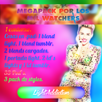 Megapack +1000 watchers! by LightAddiction