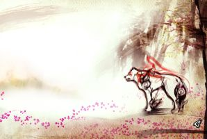 Okami Sketch 11 by GAVade