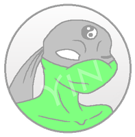 TMNT:Yin Button by kiananuva12