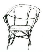 Lawn chair. by DuckTeeth
