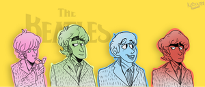 The Beatles by KabouterPollewop