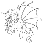Raffle Pyrlafin #3 (WIP) by AlimareEmpire