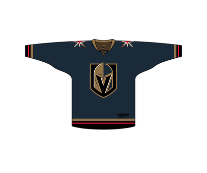 Las Vegas Golden Knights Jersey Concept by PD-Black-Dragon