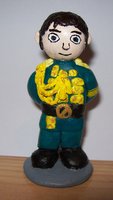 Fiyero figurine by BlueSmudge