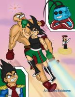 Punch Out Z: Kamehameha Star Punch by Rocketknight56