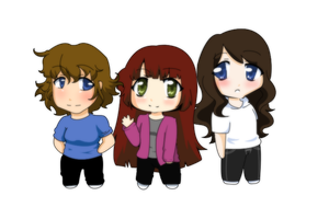 Chibis by Meeps-Chan