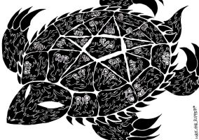 Tombstone Turtle by LukeTheRipper