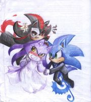 PotO chibis Sonic ver. by Specter1997