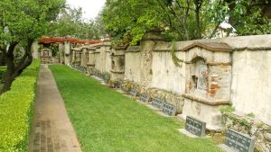 Mission San Gabriel Cemetery by Fritters