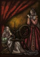 The Spinning Wheel by LaTaupinette