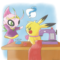 .:PKMN-Crossing: Tough Customer:. by Volmise