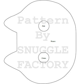 Cookie Cat Pattern by SnuggleFactory