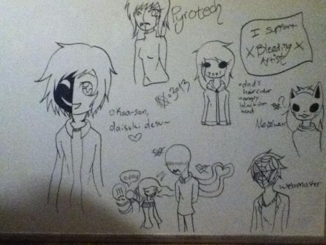 Whiteboard CP Doodles by AkitheShinigami