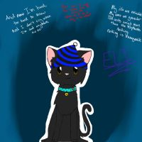 Eli the Kitty :D by FireOwls