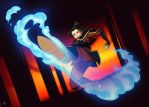 Commission - Azula by Blue-Ten