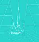 Feet In Water by JayyDii