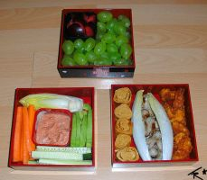 Bento for Friends by Crystal-Flash