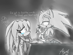Sonic Singing to Sky by Amy-Oh