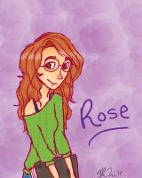 Rose Weasley by MissySerendipity