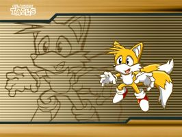 Sonic Battle - Classic Tails by LeatherRuffian