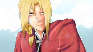 Edward Elric by NecroMasterSyl