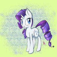Rarity pone by lilfaux