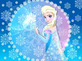 Queen Elsa - Frozen by sammy8a