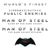 MAN OF STEEL SEQUEL TITLE - LOGO by MrSteiners