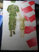 WIP - Honoring Viet War Vets by nicole92614