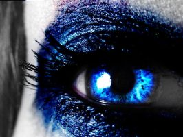 Metallic Blue Eye by LT-Arts