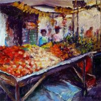 Green-grocer in Brazil by leandropainter