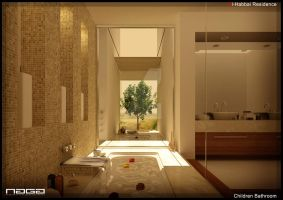luxury bathroom by aboushady81