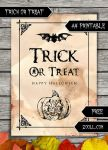 Trick Or Treat Halloween A4 Printable by MysticEmma