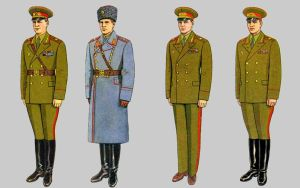 Soviet Army Uniforms 29 by Peterhoff3