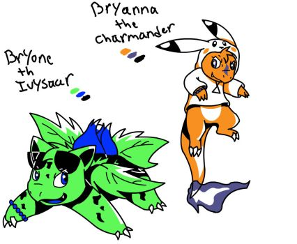 Smash Rescuers Gen 2 - Bryone and Bryanna by Pikachugirl345