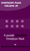 Emoticon Pack Volume '1 by Thirteen-Autumns