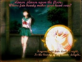 Sesshomaru and Kagome Edit by MidnightRoseofSorrow