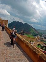 Amber Fort by Ranora