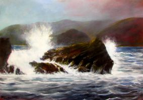 Wave and Rocks 0.1 by Boias