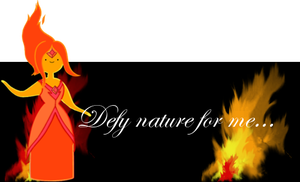 Flame Princess Signature by RoseSwan