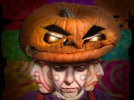 My halloween face by IronAries
