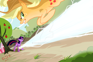 Fighting is Magic by CuteSkitty