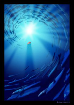 Finding Nemo poster by Hesstoons